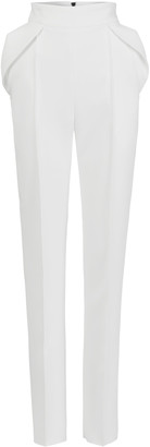 Maticevski Prolific Pleated Cady Tapered Pants