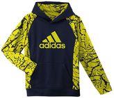 adidas Boys' 8-20 Crackle Sleeve Hoodie