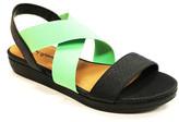 Michael Antonio Two Tone Sandals Black