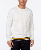 Sean John Men's Big & Tall Tiger Embroidered Sweatshirt
