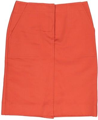 Louis Vuitton Orange Cotton Skirts