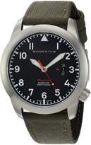 Momentum Men's 1M-SP18BS6G Analog Display Swiss Quartz Green Watch