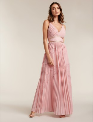 Ever New Kayla Spliced Lace Petite Maxi Dress