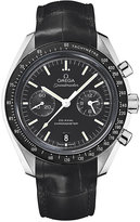 Omega Speedmaster Moonwatch men's black strap watch