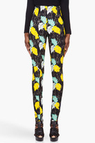 PROENZA SCHOULER Floral Print Skinny Pants