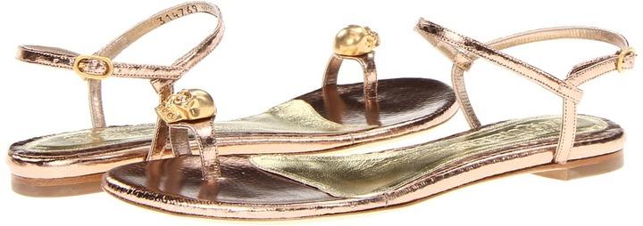 Alexander McQueen Infra Pelle - Foil Ayers (Pink Silver) - Footwear