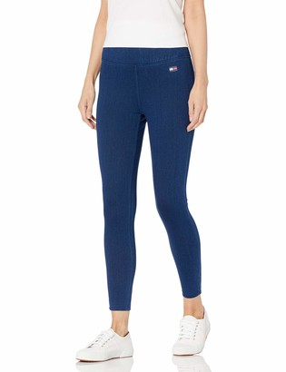 Tommy Hilfiger Women's High Rise Full Length Stretch Denim Legging Small