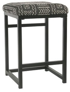 "HomePop Open Back 24"" Counter Stool - 24 inches - 24 inches"