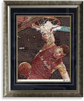 Bed Bath & Beyond Blake Griffin Framed Limited Edition 16-Inch x 20-Inch Mosaic Collage Photo