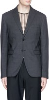 Acne Studios 'London' peak lapel wool blazer