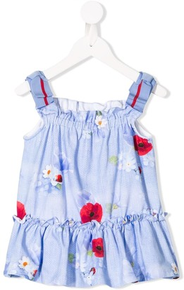 Lapin House Floral Flared Dress