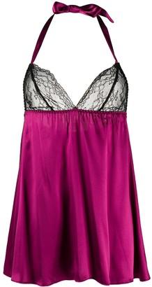 Gilda & Pearl silk Grace babydoll top
