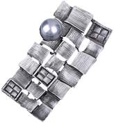 AUTULET Silver Fashion Brooch Pin Unique Stylish Big Extraordinary Retro Vintage Alloy Brooches Gift Wedding