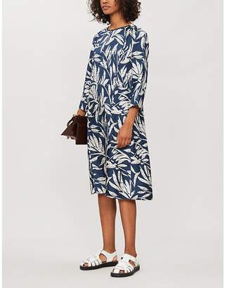 Max Mara S Riber floral-print silk midi dress