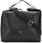 Emporio Armani large holdall - men - Calf Leather - One Size