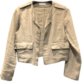 By Zoé Grey Linen Jacket for Women