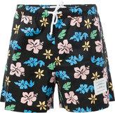 Thom Browne floral print swim shorts - men - Nylon - 2