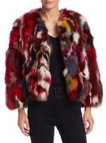 Rebecca Minkoff Rachel Fox Fur Jacket