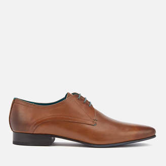 Ted Baker Men's Bhartli Leater Derby Shoes - Tan
