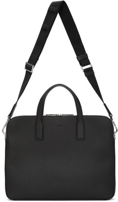 HUGO BOSS Black Double Document Briefcase