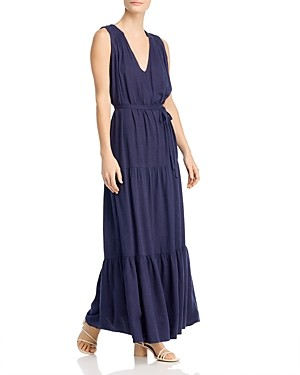 Splendid Rosemary Tiered Maxi Dress