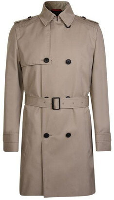 HUGO BOSS Double Breasted Trench Coat