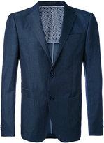 Z Zegna two piece formal suit - men - Cotton/Linen/Flax/Cupro/Wool - 48