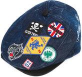 DSQUARED2 denim Hackney hat - men - Cotton/Spandex/Elastane - S