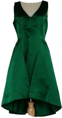 Christian Dior Green Silk Dresses