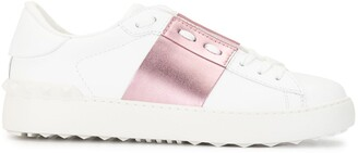 Valentino Open lace-up sneakers