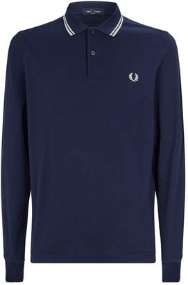 Fred Perry Long-Sleeved Polo Shirt