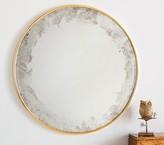 Pottery Barn Kids Monique Lhuillier Antiqued Thin Profile Round Mirror