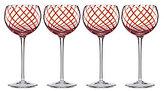 Lenox Holiday Jewel Balloon Wine Glasses, Set of 4