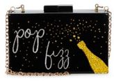 La Regale Pop Fizz Lucite Crossbody Bag