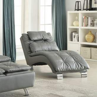 Darby Home Co Barium Chaise Lounge with Cushion Darby Home Co