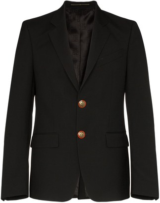 Givenchy Button-Embellished Blazer