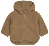 Thumbnail for your product : Arket Hooded Pile Jacket