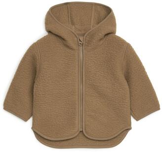 Arket Hooded Pile Jacket
