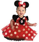 BuySeasons Girls' Disney Red Minnie Mouse Baby Costume