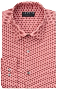 Alfani Men's Modern Argyle Dress Shirt, Created for Macy's