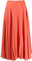 Parker Chinti & pleated skirt