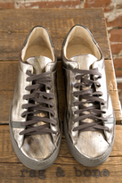 Rag & Bone Trainer in Metallic Leather
