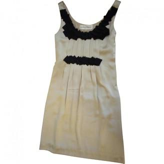 Graham & Spencer Beige Silk Dress for Women