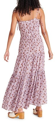 Veronica Beard Windansea Floral-Print Dress