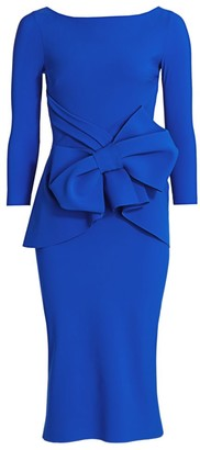 Chiara Boni Yolanda Bow Sheath Dress