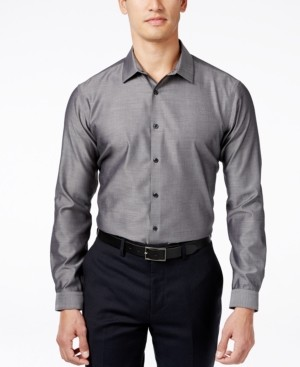 INC International Concepts Inc Men's Blake Long-Sleeve Non-Iron Shirt, Created for Macy's