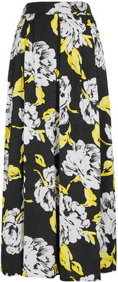 Gestuz Sarina Floral-print Jacquard Midi Skirt