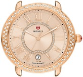Michele 16mm Serein Diamond Rose Gold, Beige Diamond Dial