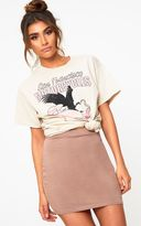 PrettyLittleThing Navy Ultimate Jersey Mini Skirt