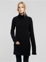 Calvin Klein Collection Cashmere Novelty Stitch Tunic